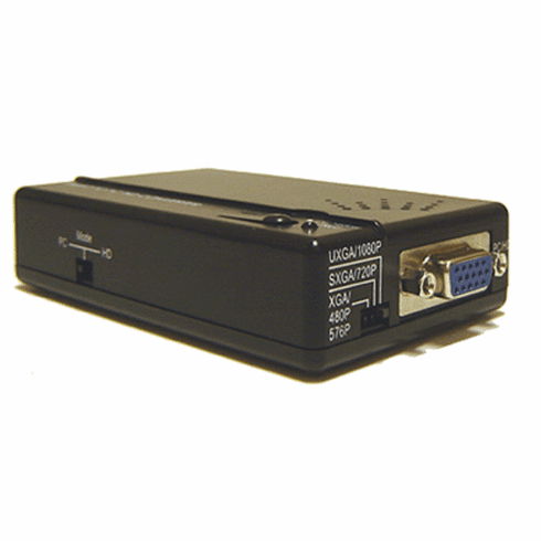 Composite S-Video To HD Component Video VGA Converter Scaler