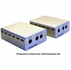 Deluxe IR Remote Over Cat5 Cat6 Extender Repeater For 10 Devices