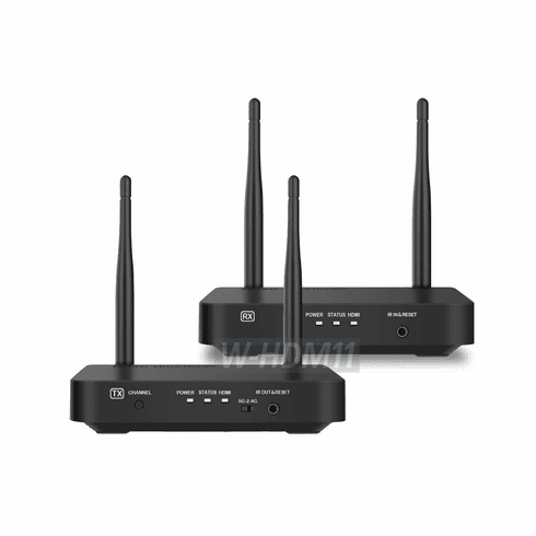 Dual-Band Wireless HDMI TV Transmitter Extender With HDMI Loop-Through + IR Extender Support
