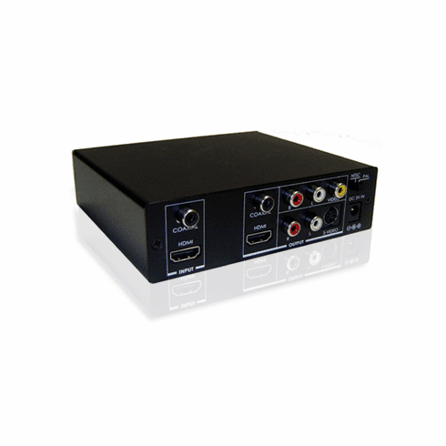 HDMI Audio To Digital S/PDIF And Stereo RCA Audio Converter