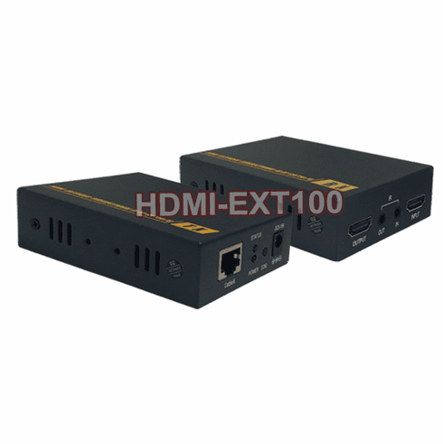 HDMI DVI Over CAT5 CAT6 + IR Remote Extender Kit