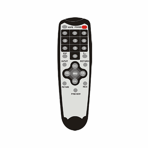 IR Remote Controller For LCDT6R1 Model