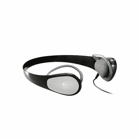 Logitech Premium Water-Resistant Headphone With Neodymium Drivers And Comfort Rings