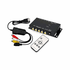 Mini 4-Channel USB Quad Video DVR Adapter For Computer