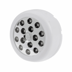 Mini Battery-Powered White LED Motion Sensor Light