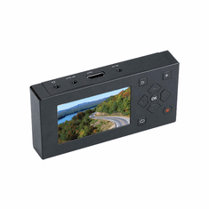 Portable Digital Video Audio Recorder Player With Micro SD Input + RCA A/V Loop-Thru + HDMI Output