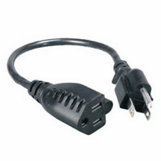 Power Outlet Saver Extension Cord 1FT