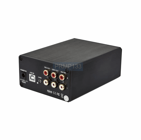 Premium Desktop/Headphone Amplifier With USB DAC + Volume + Gain Control
