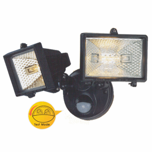Premium Twin-Head Spot Light Sytem With IR Motion Sensor + Time/Lux Adjustment