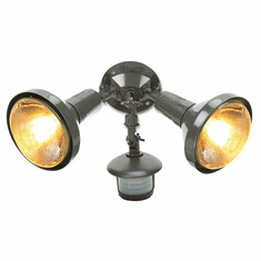 Premium Twin Head Swivel Flood Light With Motion Sensor
