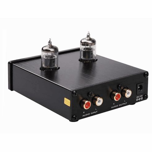 Premium Vacuum Tube Preamplifier With Volume Treble Bass Control