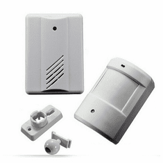 Premium Wireless PIR Motion Sensor + Wireless Receiver/Base Unit