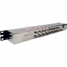 Professional 16-Channel CATV RF Combiner 1U Rack-Mountable