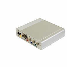 Professional Component Video YUV To Composite Video S-Video Down Converter