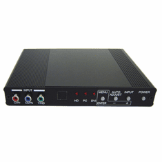 Professional HDMI DVI VGA Component Video To HDMI DVI VGA Converter Scaler