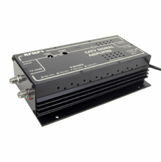 Professional RF Coax Signal Booster With High 32dB Gain - AC 110V Power Supply