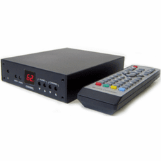 Professional RF Coax To Composite Video Stereo Demodulator TV Tuner W/IR Remote Control