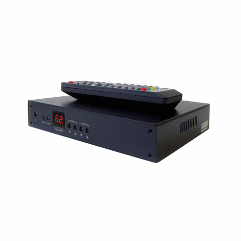 Professional RF Coax To HDMI DVI Demodulator TV Tuner For PAL B/G System