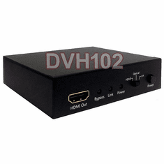 RCA Stereo Optical Audio To HDMI Encoder - No Video Input Needed