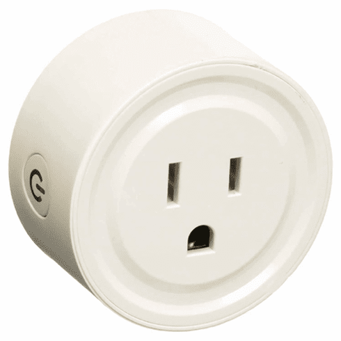 Smart Wi-Fi AC Outlet With Timer Function For Home Automation