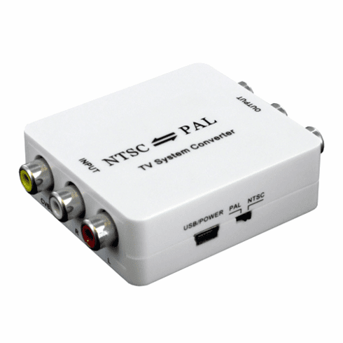 Universal NTSC PAL Video System Converter