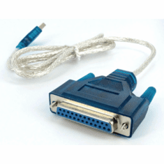 USB To DB25 Parallel Port Printer Adapter Cable