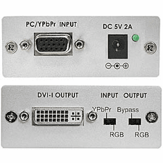 VGA to DVI-D Video Converter + Component Video To DVI HDMI Converter
