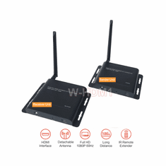 Wireless HDMI TV Transmitter Extender With HDMI Loop-Through + IR Extender Support