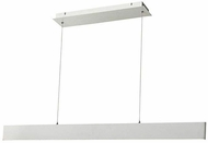 Abra 10095PN-BA Slim Contemporary Brushed Aluminum LED 32  Island Lighting