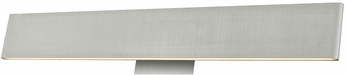 Abra 20002WV-BA Slim Contemporary Brushed Aluminum LED 24  Bath Lighting