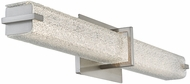 Abra 20009WV-BN Squire Contemporary Brushed Nickel LED 26.2  Bath Lighting Fixture