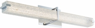 Abra 20009WV-CH Squire Modern Chrome LED 26.2  Bathroom Light Fixture
