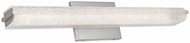 Abra 20043WV-BN Eco Modern Brushed Nickel LED 24  Lighting For Bathroom