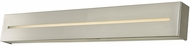 Abra 20068WV-BN Grin Modern Brushed Nickel LED 32  Bath Light Fixture