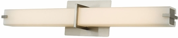 Abra 20090WV-BN Squire Modern Brushed Nickel LED 26  Bathroom Light Fixture