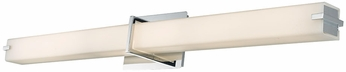 Abra 20091WV-CH Squire Contemporary Chrome LED 38  Bathroom Sconce