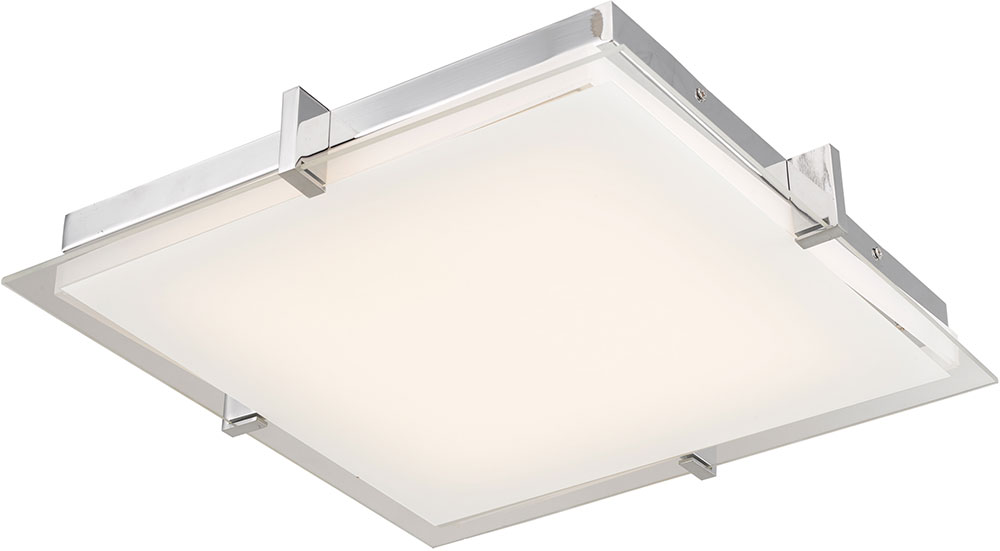 Abra 30012fm Ch Matrix Modern Chrome Led 12 Nbsp Ceiling Light Fixture Loading Zoom