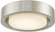 Abra 30036FM-BN Eclipse Modern Brushed Nickel LED 13  Home Ceiling Lighting