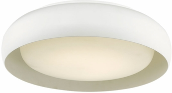 Abra 30060FM-WH Euphoria Contemporary White LED 15  Ceiling Light Fixture