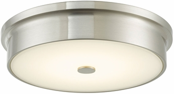 Abra 30097FM-BN Spark Modern Brushed Nickel LED 12  Flush Mount Ceiling Light Fixture