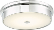 Abra 30097FM-CH Spark Contemporary Chrome LED 12  Home Ceiling Lighting