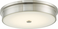 Abra 30098FM-BN Spark Modern Brushed Nickel LED 15  Overhead Light Fixture
