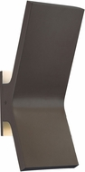 Abra 50000ODW-CL Yoga Modern Coal LED Outdoor Wall Sconce