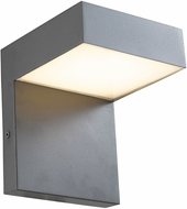Abra 50005ODW-CL Yoga Modern Coal LED Outdoor Lamp Sconce