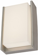 Abra 50010ODW-SL Titon Contemporary Silica LED Exterior Wall Sconce Lighting