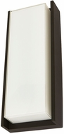 Abra 50011ODW-CL Titon Modern Coal LED Outdoor Wall Mounted Lamp
