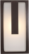 Access 20012MG-BRZ-RFR Neptune Modern Bronze Outdoor Bulkhead Lighting Sconce