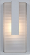 Access 20012MG-SAT-RFR Neptune Contemporary Marine Grade Satin Nickel Outdoor Lamp Sconce