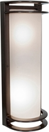 Access 20031LEDDMGLP-BRZ-RFR Nevis Modern Bronze LED Outdoor Bulkhead Lighting Sconce