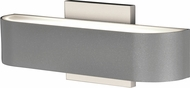 Access 20046LEDDMG-SAT-FST Montreal Modern Marine Grade Satin Nickel LED Exterior Wall Light Fixture
